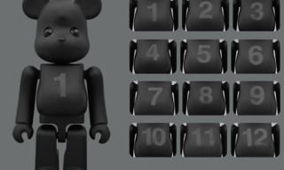 Medicom Toy x Swarovski Birthday Bearbrick NOIR
