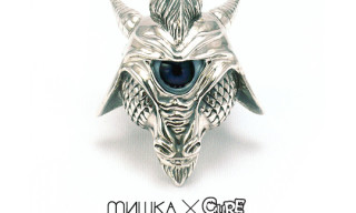 Мishka x Cure x Lamour Supreme Boogieman Mask Sterling Silver Ring