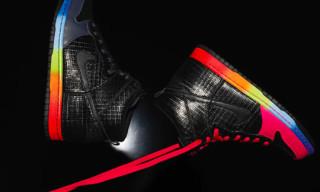 "Nike Dunk Hi ""Rainbow"" Fall 2010"