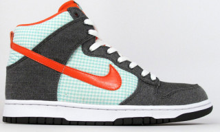 Nike Dunk Hi Army Green/Orange Haze/Mint Summer 2010