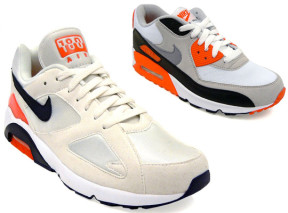 """buy popular 93211 5a6c1 Nike Fall 2010 """"OG Infrared"""" Pack – Air 180 ND and Air Max 90"""