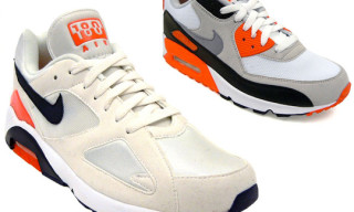 "Nike Fall 2010 ""OG Infrared"" Pack – Air 180 ND and Air Max 90"