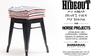 Norse Projects x The Hideout x Barbarian Rugby Shirts