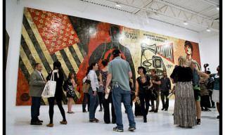 "Shepard Fairey ""May Day"" Exhibition at Deitch Projects – Opening Recap"