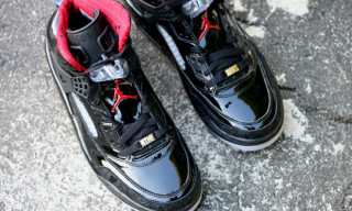 Air Jordan Spiz'ike Black Patent – A Detailed Look