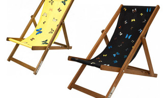 Damien Hirst Deck Chairs