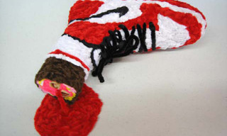 Don Porcella's Pipe Cleaner Sneaker Art