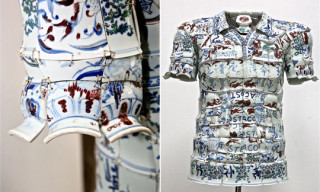 Lacoste Porcelain Polo Shirts by Li Xiaofeng