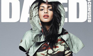 M.I.A Covers Dazed & Confused July 2010 Issue