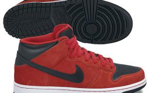 "Nike Dunk Mid Pro SB ""Sport Red"""
