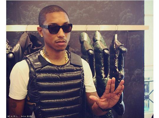 Pharrell Williams X Moncler Launch Colette Paris