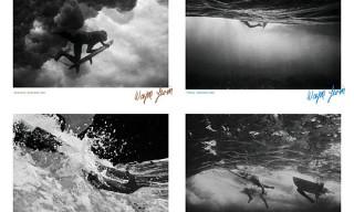 Reigning Champ x Wayne Levin x Kookbox Surfboards