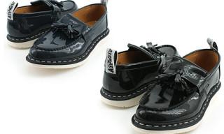 Ships Jet Blue x Dr. Martens Tassle Loafers