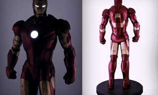 Sideshow 1:2 Iron Man Mark III Figure