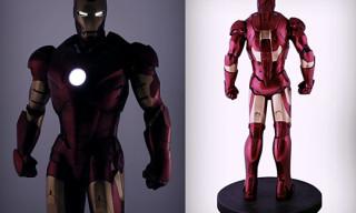 Sideshow 1:2 Iron Man Mark III Figure