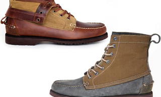 VANE x Sebago Holiday 2010 Footwear