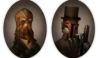 Victorian Style Star Wars Portraits by Greg Peltz