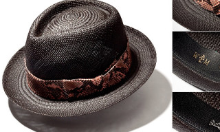 Wacko Maria x Blackflag Straw Hat
