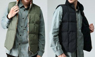 Waste(twice) x Sierra Designs x Pendleton Down Vests