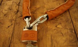 Abici Leather Coated Bike Chains