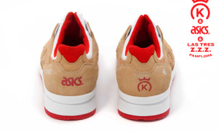 Asics x 24 Kilates x Tres ZZZ – San Fermin Pack Teaser