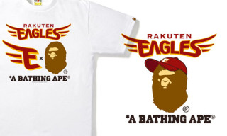 Bape x Rakuten Eagles T-Shirts