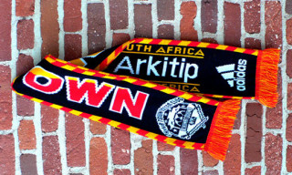 Chinatown Soccer Club x arkitip x adidas South Africa Scarf