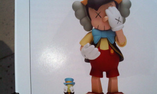 Kaws Pinocchio and Jiminy Cricket Toys Preview