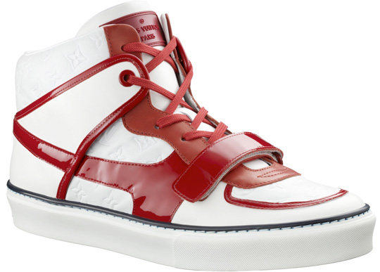 Louis Vuitton Tower Sneaker White/Red | Highsnobiety