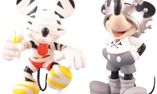 "Medicom Mickey Mouse ""Roen"" Collection Figures"