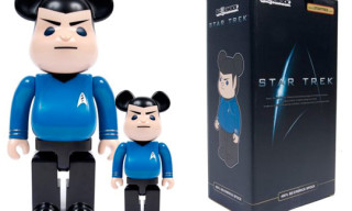 Medicom x Star Trek Mr. Spock Bearbrick – 1000% and 400%