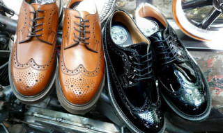 Neighborhood x Loake Wingtip Shoes