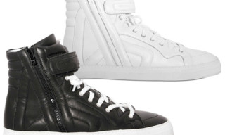 Pierre Hardy Fall/Winter 2010 Nappa Leather High Top Sneakers