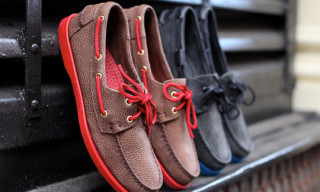 Sebago x Ronnie Fieg Nexus Project – Marcus Troy's Dockside Boat Shoes