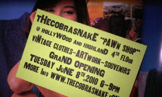 """The Cobra Snake """"Pawn Shop"""" Opening Soon"""
