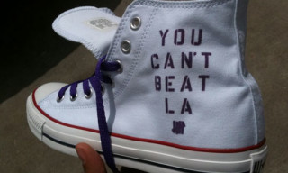 "Undefeated x Converse ""LA Lakers"" Chuck Taylor Hi"