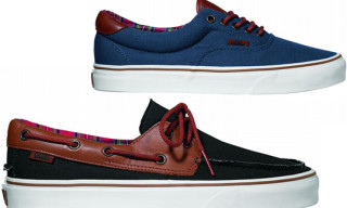 "Vans ""Tortoise Shell"" Pack Fall 2010 – Zapato del Barco and Era 59"