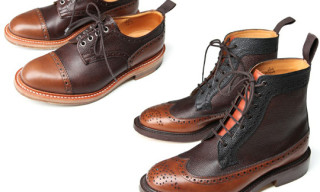 Waste(twice) x Tricker's Wingtip Collection Fall/Winter 2010