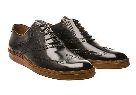 Dries Van Noten Wingtip Sneakers