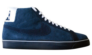 Poets x Nike SB Blazer Premium Suede