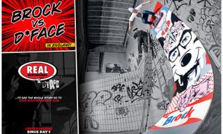 REAL Skateboards x D*Face Skate Decks