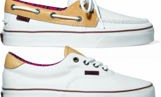 "Vans ""Canvas & Leather"" Pack Fall 2010 – White Colorways"