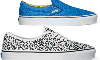 "Vans Fall 2010 ""Glitch Checker"" Pack – Slip-On & Authentic"
