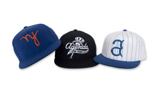 Agenda NYC x In4mation x The Hundreds Flex Fit Caps