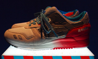 Asics x SlamJam Gel Lyte 3 Preview