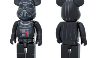 Medicom x Stussy x Star Wars Darth Vader 400% Bearbrick