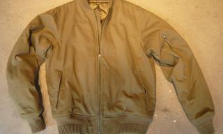 Maharishi for Burg & Schild Bomber Jacket