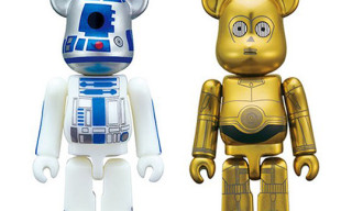 Medicom x Star Wars C3PO and R2D2 100% Bearbrick Set