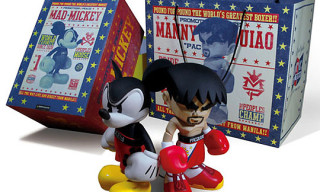 Manny Pacquiao x Bloc28 Mad Mickey Toy Set