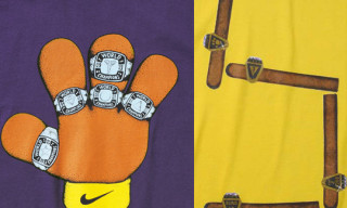 "Nike Basketball Kobe ""5 Ring Puppet"" and ""5 Cigar"" T-Shirts"
